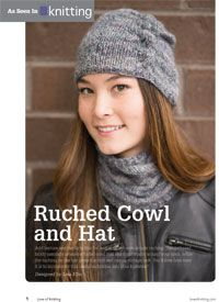 Ruched Cowl Knitting Pattern : 17 Best images about Knit Cowl Patterns on Pinterest Quick knits, Cowl patt...
