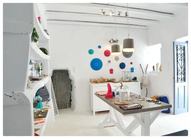 FAD Naousa, Paros , Greece. Design store