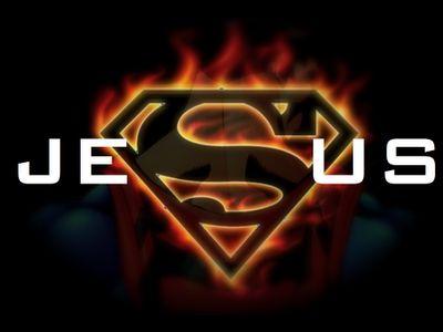 Jesus is MY Super Hero!!!!