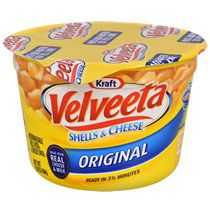 Kraft Microwavable Velveeta Shells and Cheese, 2.39 oz.