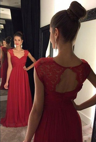Ig Pinoytinaaa Dresses Pinterest Red Bridesmaids Cheap Prom