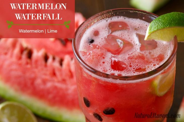 Watermelon and lime create a refreshing, tangy juice.
