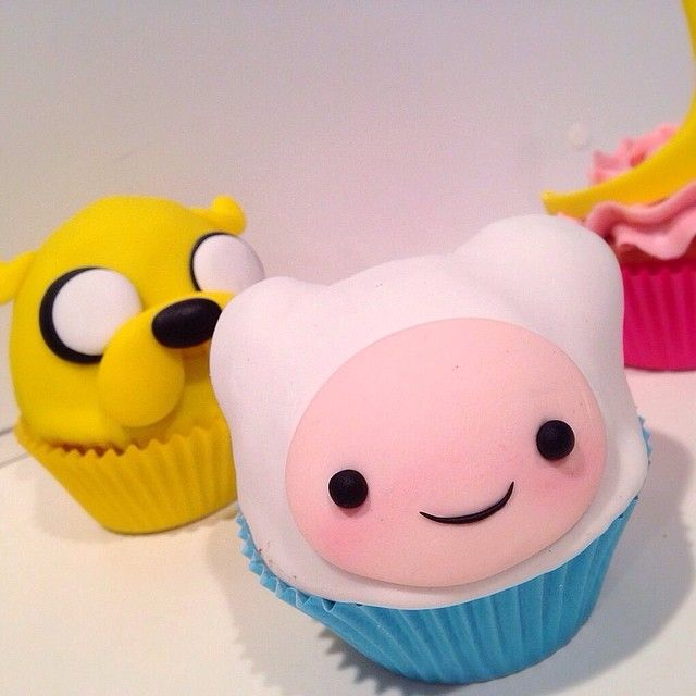 Adventure Time cupcakes                                                                                                                                                                                 More