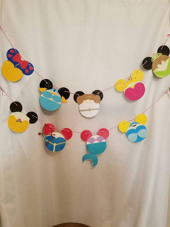 Personalized Disney resort banner Birthday by JoyfulFloralCreation
