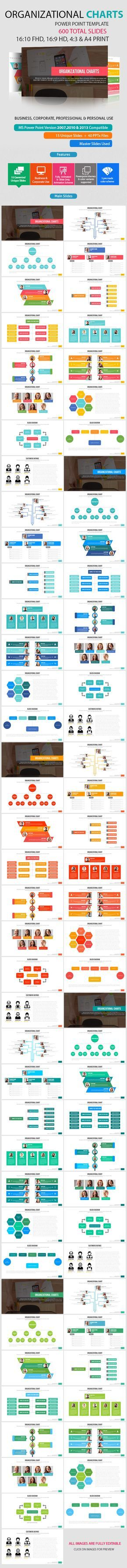 Organizational Chart Power Point Presentation - Abstract PowerPoint Templates                                                                                                                                                                                 More