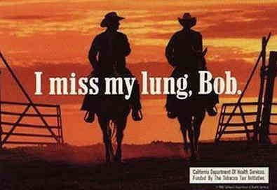 Marlboro man, cancer, ...