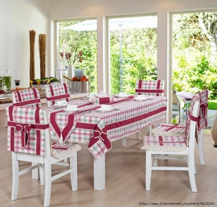 M s de 20 ideas incre bles sobre fundas para sillas de for Sillas comedor patchwork