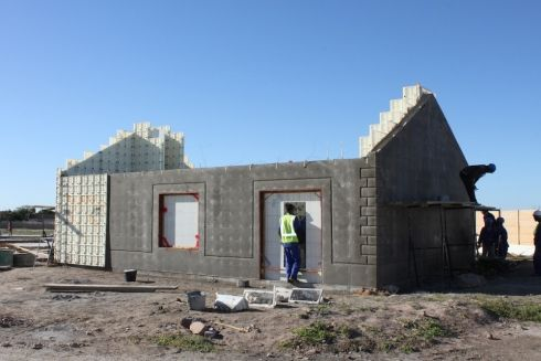 In order to change the way we build low-cost housing Moladi developed a system that constitutes the use of a removable, reusable, recyclable and lightweight plastic formwork mould, which is filled with an aerated mortar to form the wall structure of a house in as little as one day. www.moladi.net