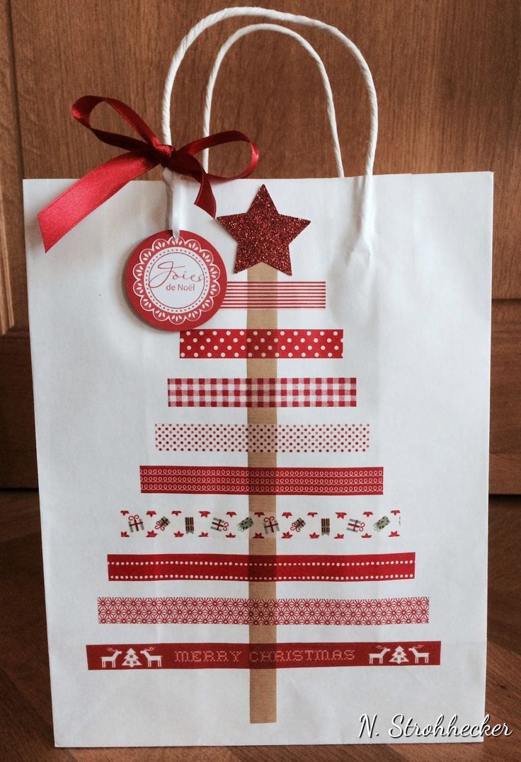 The 25+ Best Christmas Gift Bags Ideas On Pinterest  Diy Christmas  Wrapping Paper, Wrapping Ideas And Gift Wrapping Ideas Christmas