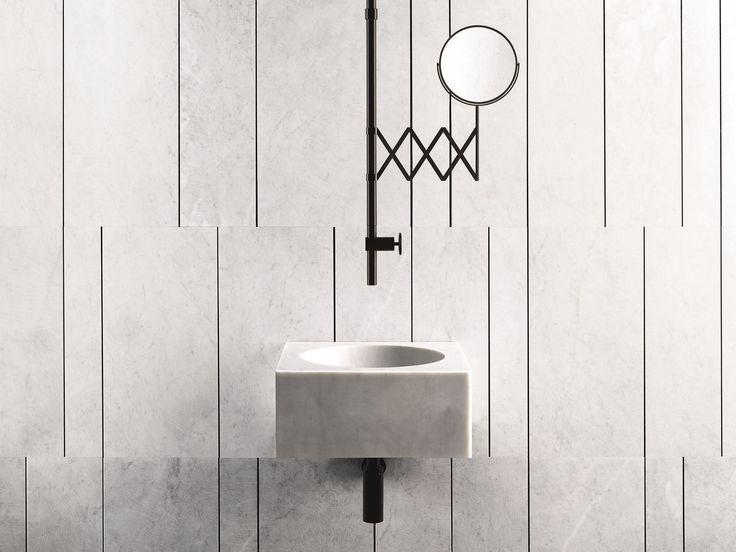 FONTANE BIANCHE Miscelatore per lavabo da soffitto Collezione Fontane Bianche by Fantini Rubinetti design Elisa Ossino