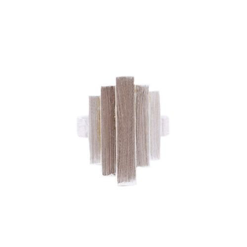 Pernille Corydon Silver Brick Ring