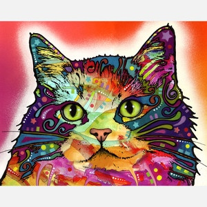 Ragamuffin now featured on Fab.  from Dean Russo Art.  beautiful dogs, cats, and even a horse.  colorful, expressive, beautiful!!!!