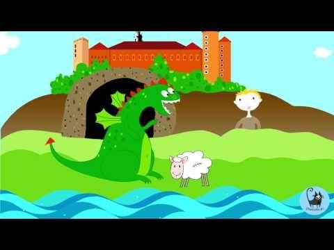 Smok Wawelski - piosenka dla dzieci - YouTube
