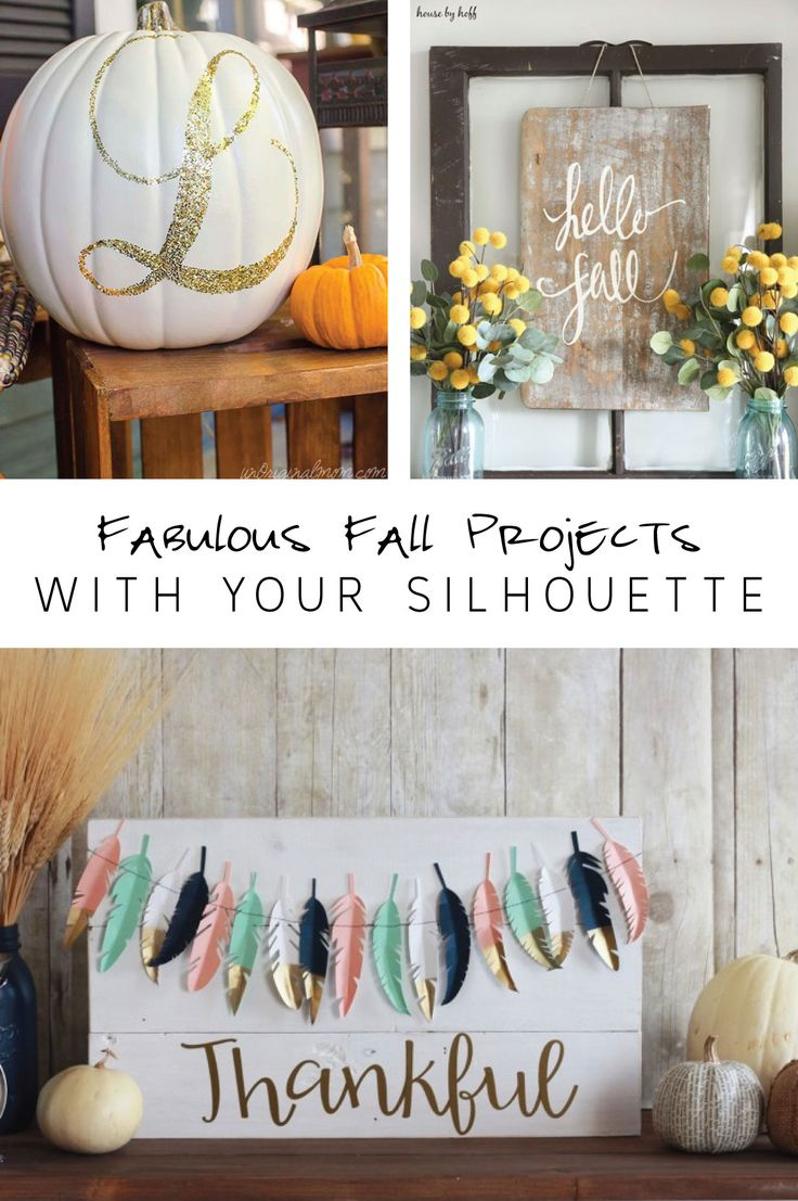 Fabulous Fall Projects