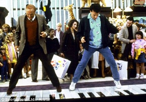 """Dance on the giant piano in FAO Schwartz like in the film """"Big."""""""