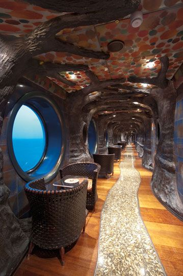 Carnival legend: Enchanted Forest Interior Promenade