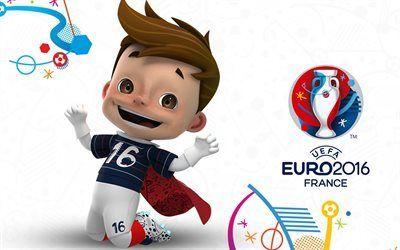 壁紙をダウンロードする フランス-2016年, euro2016年, サッカー, サッカー選手権大会