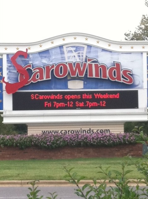 Another way to score cheap Carowinds tickets is by going for just half a day. The park's Twilight admission costs around $35 and is valid from 4 p.m. until close. The park's Twilight admission costs around $35 and is valid from 4 p.m. until close.