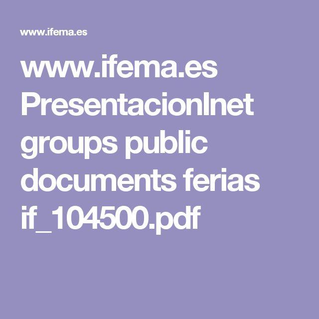 ifemaes groups public documents ferias ifpdf concursos certmenes pinterest