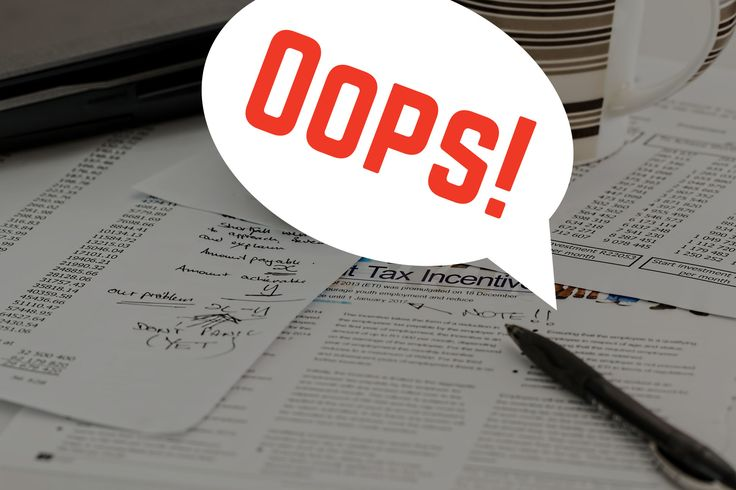 A majority of myTax returns contain errors!