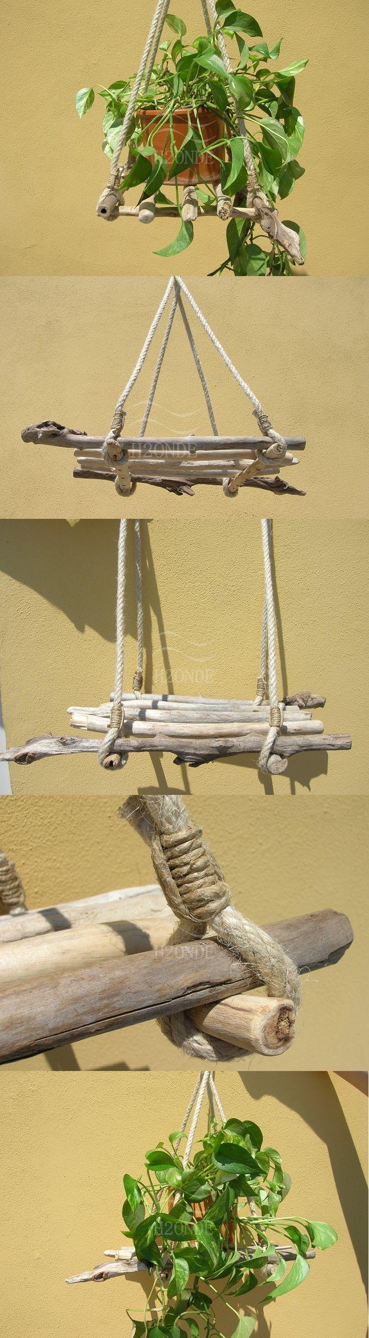 17 migliori idee su scaffali di corda su pinterest appendere decorazioni scaffali e negozio - B b porta di mare ...