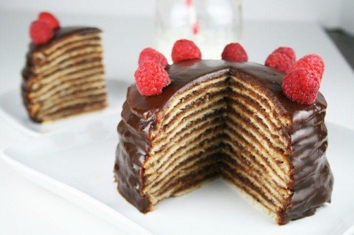 Délicieuse recette gâteau de crêpes idée délicieuse