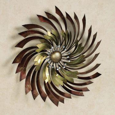 Apoch Swirl Metal Wall Sculpture