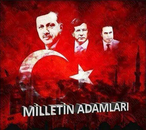 Türkiye'nin 3 cesur adamı...