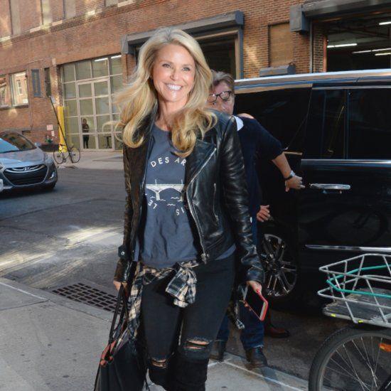 Christie Brinkley Vacation Pictures November 2015 | POPSUGAR Celebrity