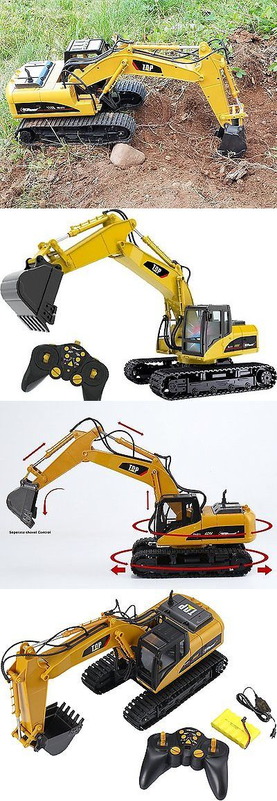 Cars Trucks and Motorcycles 182183: Remote Control Excavator Rc Construction Tractor Vehicle Truck Toy Digger Car -> BUY IT NOW ONLY: $99.37 on eBay!