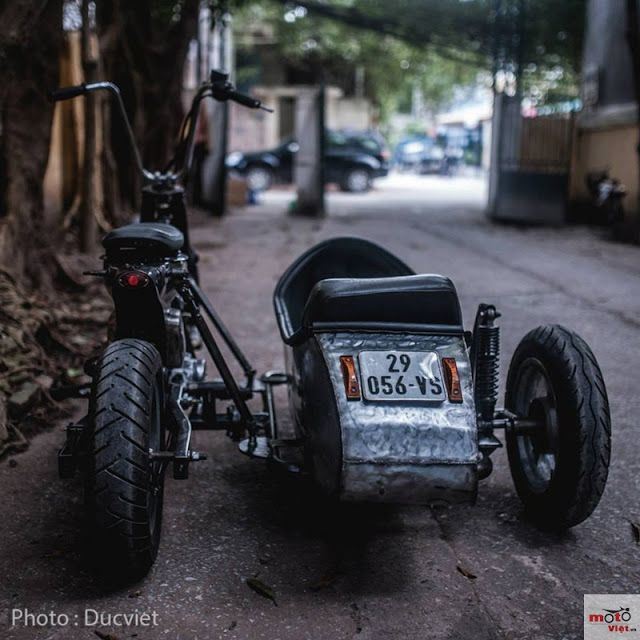Mercenary Garage: Sidecar Cub #SidecarCub #Mercenary #MercenaryGarage