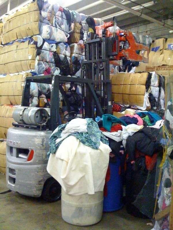 Pacas de ropa americana contenedores usa