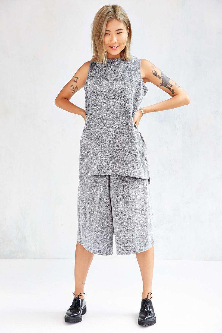 Blue apron kimchi - Native Youth Concrete Jacquard Culotte Pant Urban Outfitters
