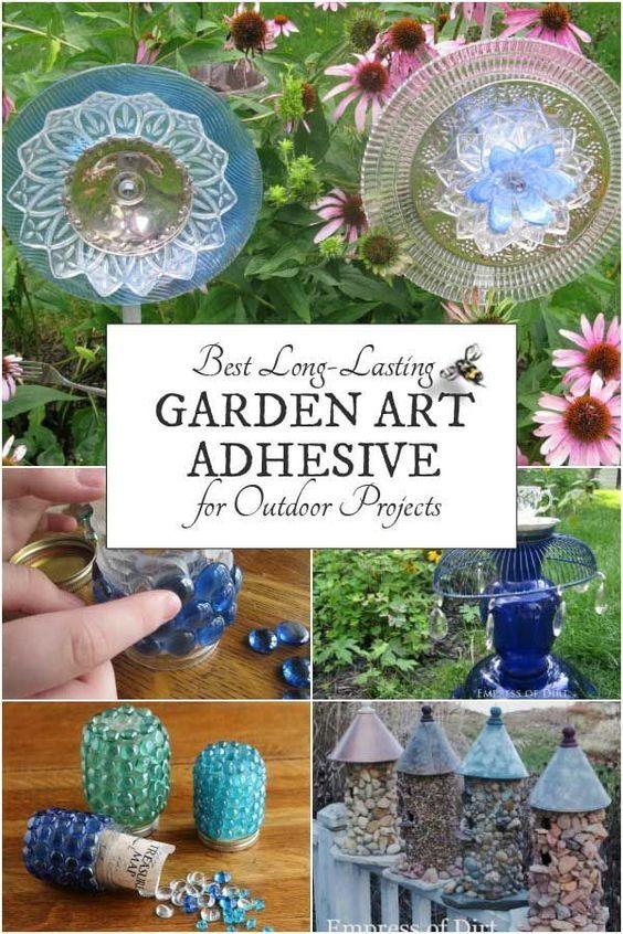 Choosing a Long-Lasting GLUE for OUTDOOR GARDEN ART Garden Decor