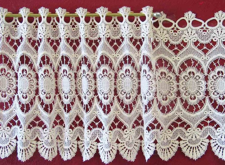 Macrame ValancesMarquise FranceHeritage Lace curtains