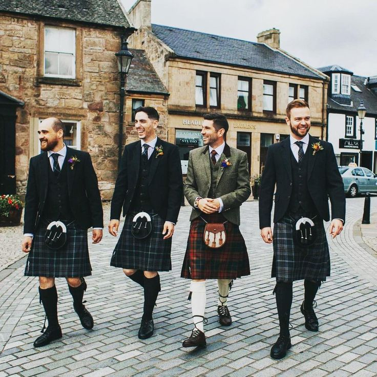 Another MacGregor and Macduff customer Alan, was recently married at Cottiers in the West End of Glasgow. He paired a County Cavan tartan with a personalised jacket and waistcoat. Alan's groomsmen complemented his outfit choice, sporting our exclusive Oban Mist tartan. Credit: @rossalexanderphoto #wedding #scottishwedding #groom #groomswear #kilt #scottishheritage #tartan