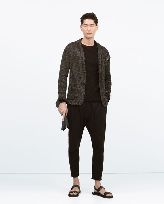 Image 1 of BAGGY TROUSERS from Zara