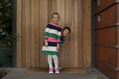 Our gorgeous SKECHERS models. Brother and Sister too-CUTE.