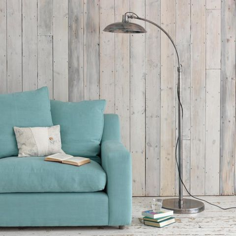 SNOOP. This curious fellow likes to read over your shoulder. With his gorgeous burnished pewter finish and mottled discus lampshade, you'll be tempted to let him. #BonjourBlighty #floorlamp
