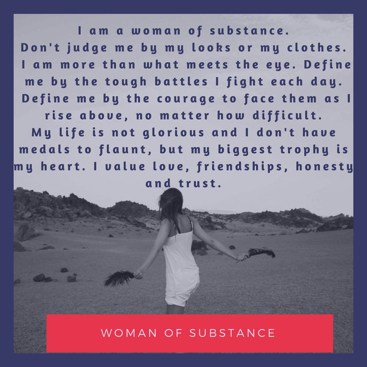 We have all faced peer pressure, but I do believe that women face far more pressures than men do. I watch my teenage daughter struggle from...