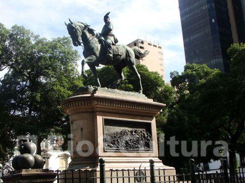 Estátua Equestre do General Osório -  Postado na data de 4/11/2010