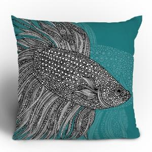 Love this throw pillow! What a beautiful accent.