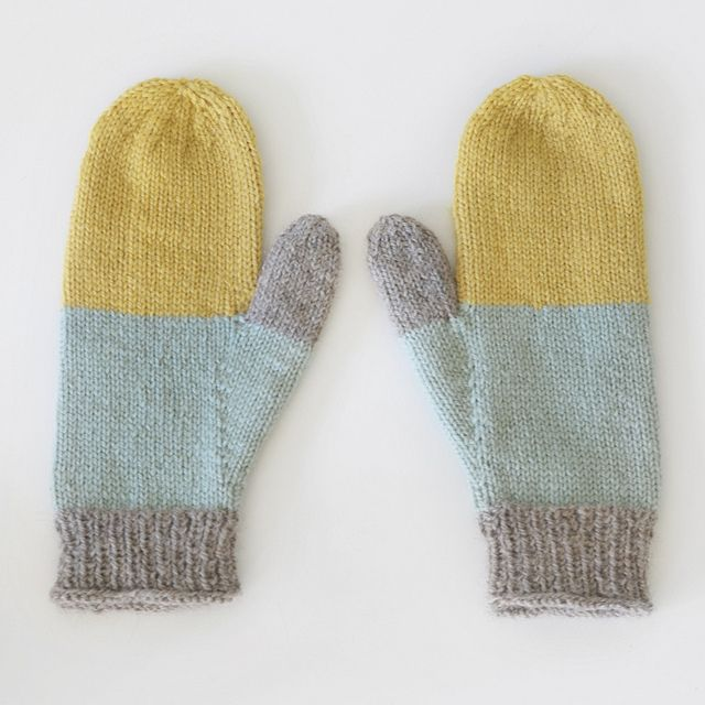 My eighth pair of mittens. by Sarah McNeil, via Flickr