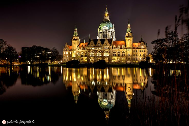 Neues Rathaus Hannover bei Nacht | Fotograf Hannover