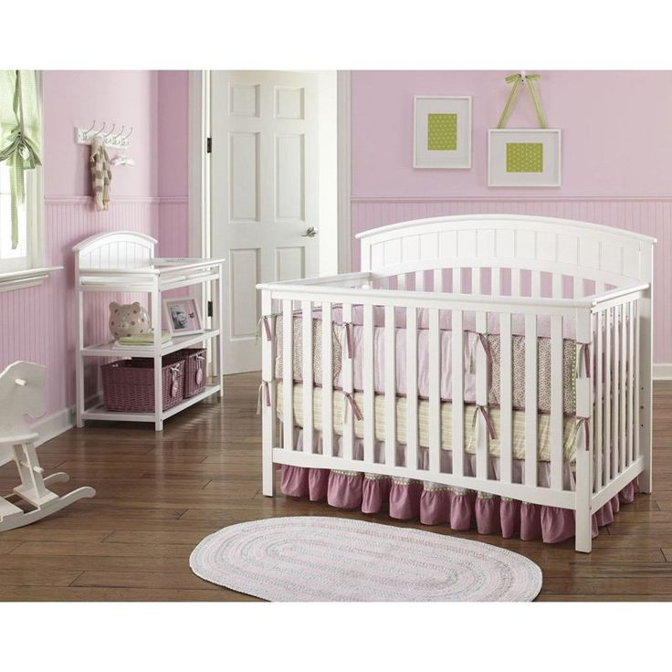 Graco Charleston 4 In 1 Convertible Clic Crib Collection