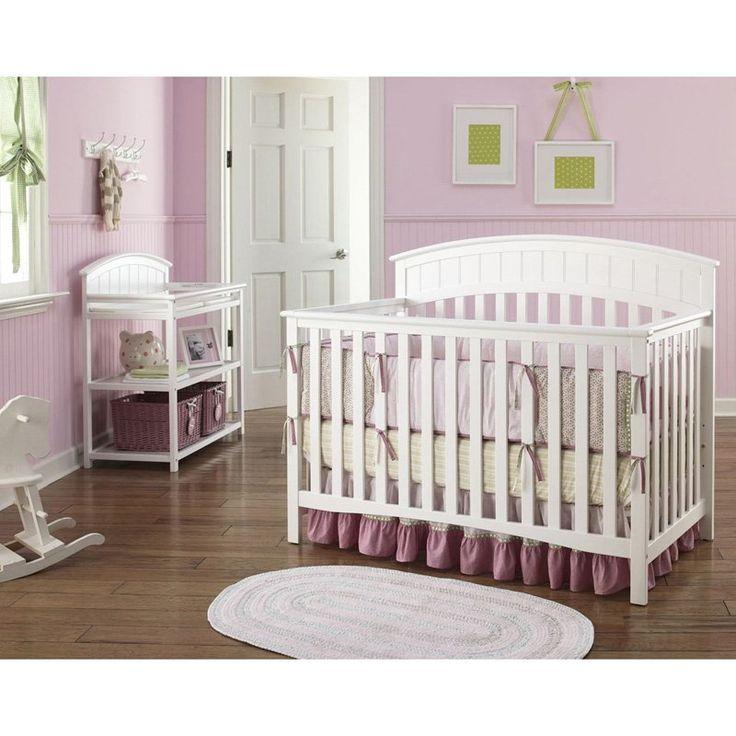 Graco Charleston Classic Convertible Crib Nursery Set In White   /   Nursery  Sets   Nursery Furniture   Baby U0026 Kidsu0027 Furniture   Furniture