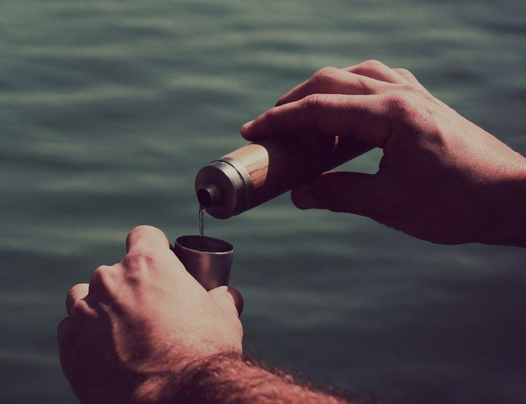 Kole Thermal #Flask by Nisnas Industries  #Handmade design with a smooth wooden finish! #camping