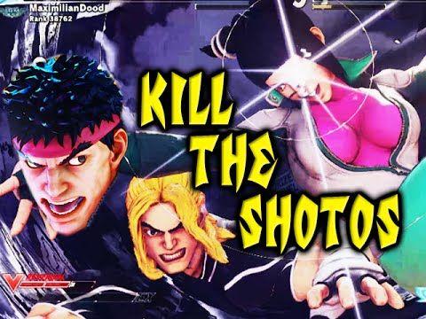 KILL THE SHOTOS: Juri - Street Fighter 5 Online Matches Pt.5
