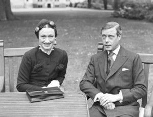 King Edward VIII (UK) abdicated his throne to marry American divorcee Wallis Simpson