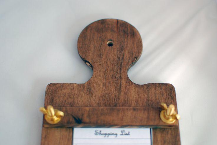 Wood Recipe Holder By Bylersbarn On Etsy Bottle Opener Wall Recipe Holder Wood